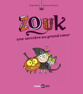 BD numérique, Zouk la petite sorcière au grand cœur