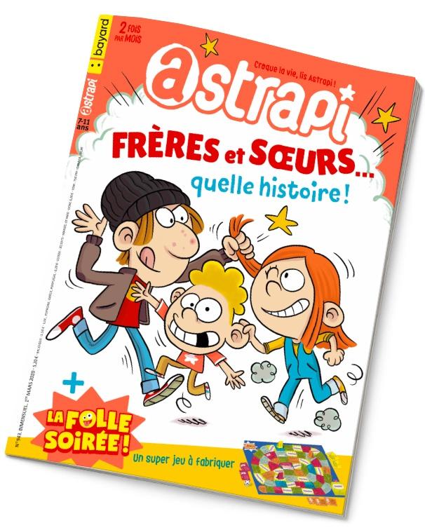 Couverture du magazine Astrapi n°943 du 1er mars 2020.