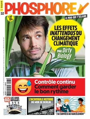 Couverture du magazine Phosphore