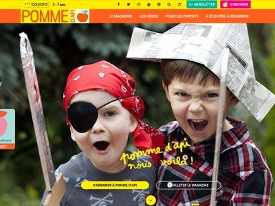 écran du site pommedapi.com