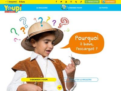 écran du site youpi.fr