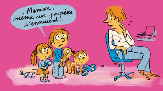 Une activité par jour avec vos enfants