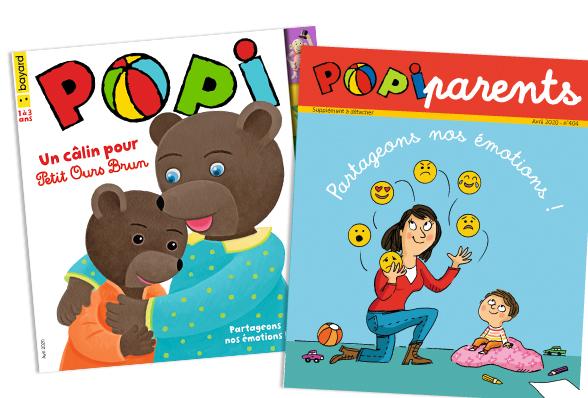 Sommaire du magazine Popi d'avril 2020.
