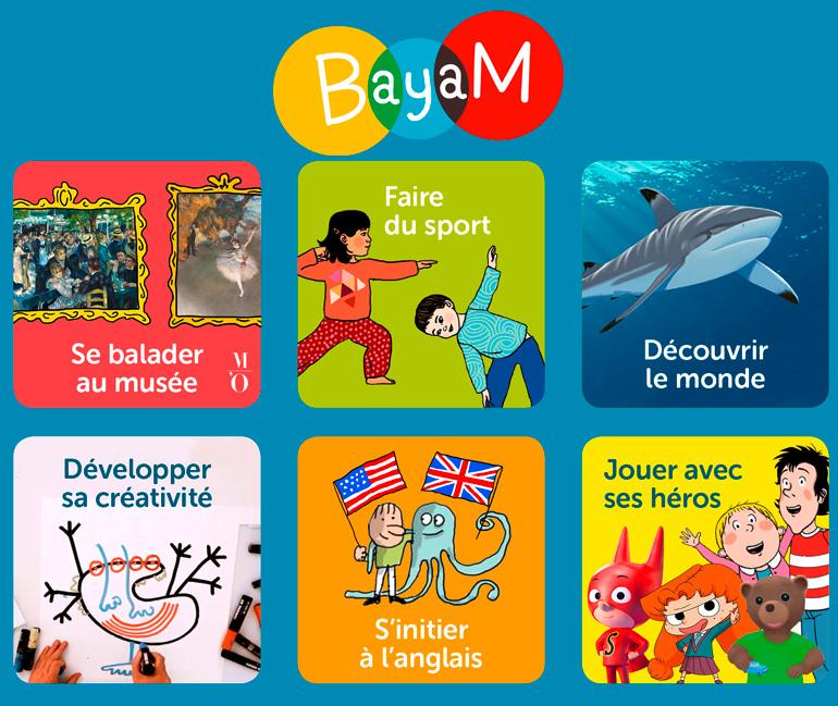 Activités sur Bayam.