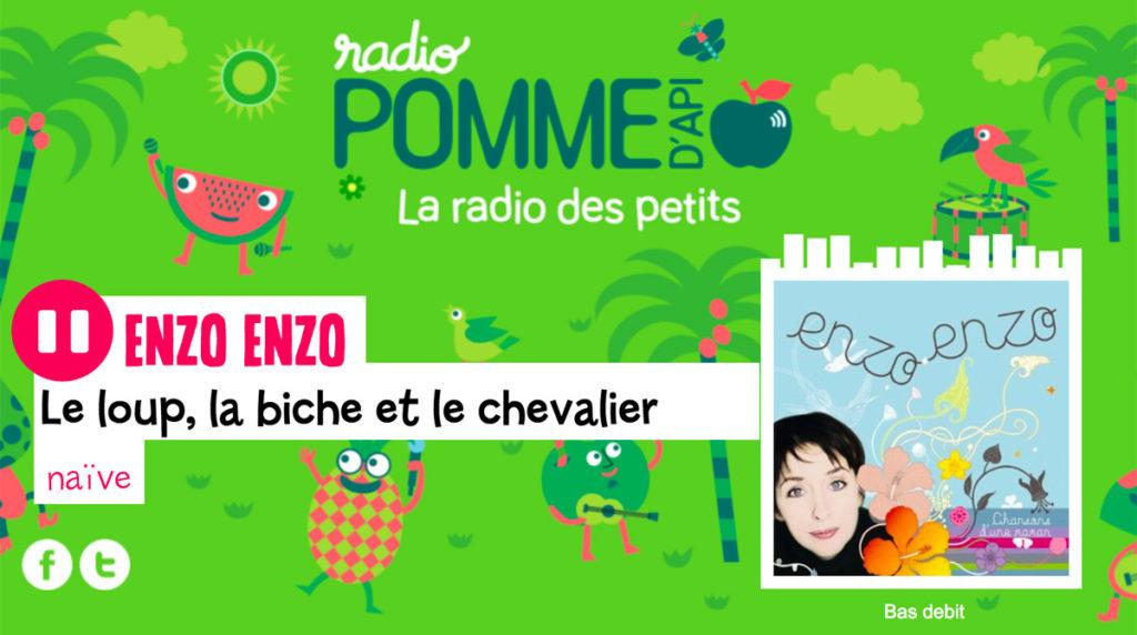 Radio Pomme d'Api.