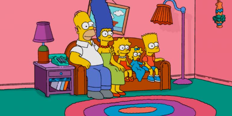 Participer à la vie de famille. La famille Simpson.