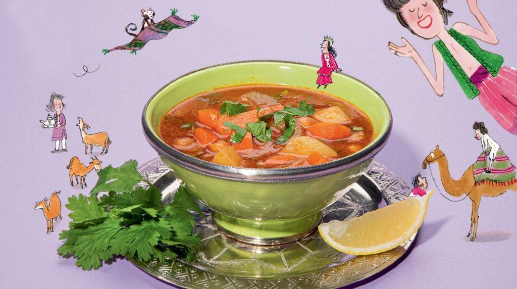 La soupe de légumes. Astrapi.