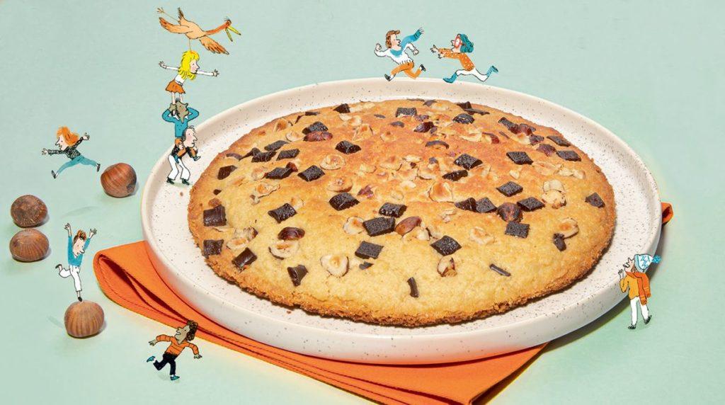 La recette du big cookie. Astrapi.
