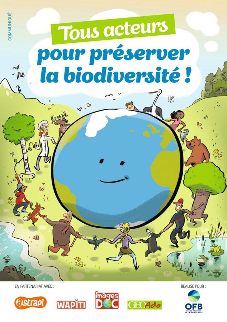 """Téléchargez le livret """"Tous acteurs pour préserver la biodiversité !"""""""