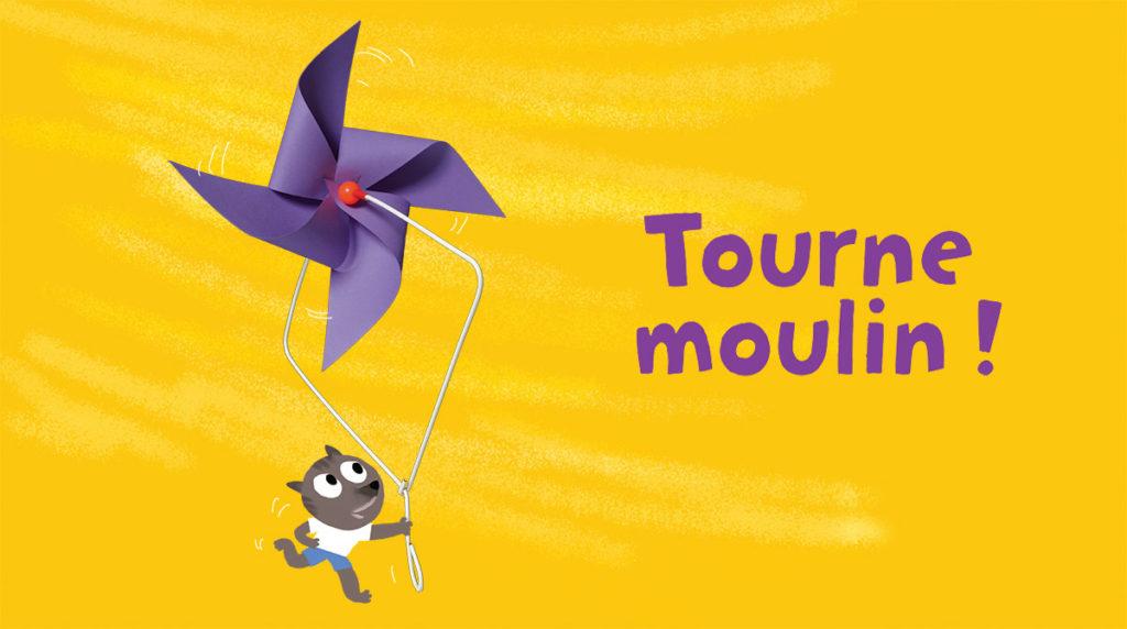 """""""Tourne moulin !"""", supplément pour les parents du magazine Popi, juin 2014. Conception, réalisation et photo : Robin."""