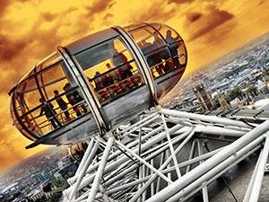 Dans le London Eye