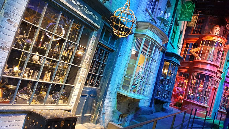 Magie de Londres - Parcours Harry Potter aux Studios Warner Bros © Eole Loisirs