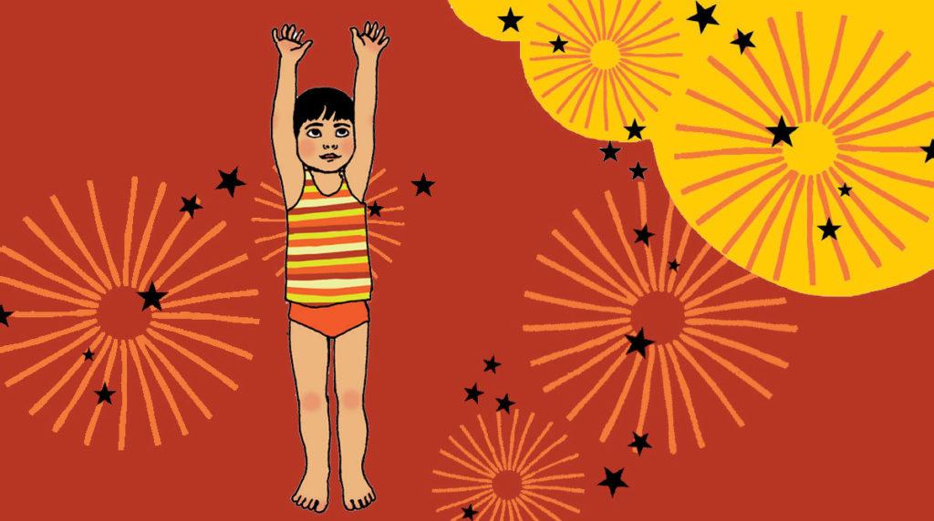 """""""Salut, le soleil !"""" : une pause yoga avec les enfants. Pomme d'Api."""