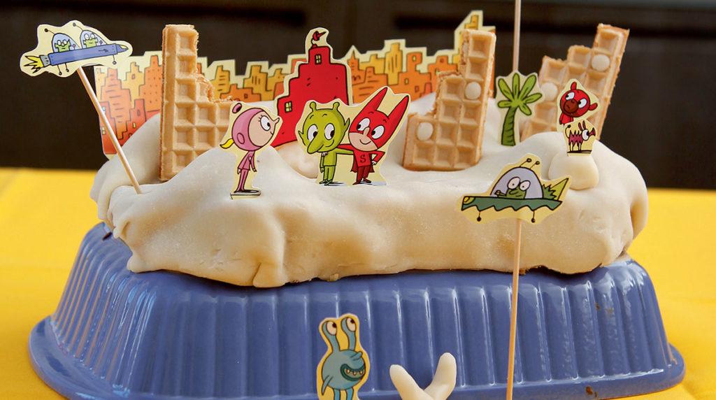 Le gâteau de SamSam.