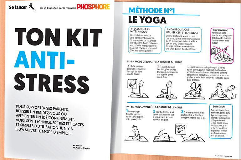 Ton kit anti-stress, méthode n°1 : le yoga