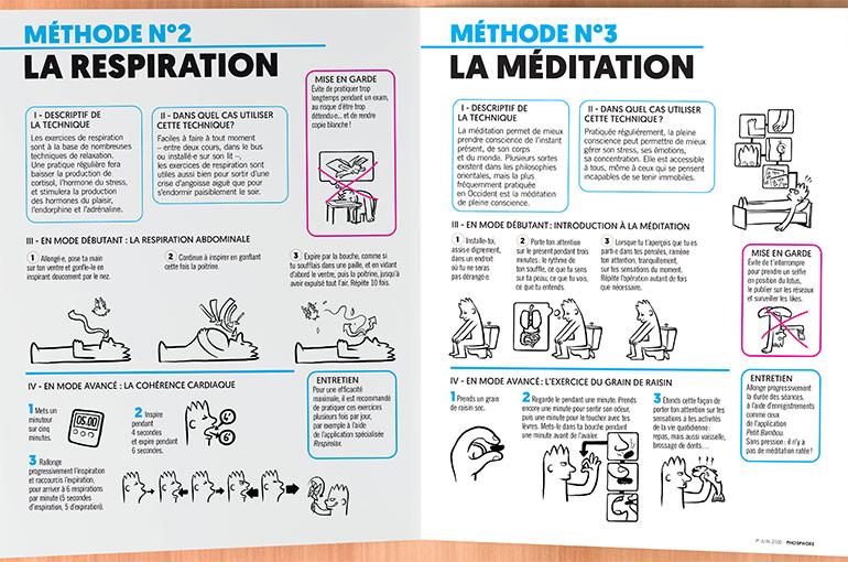 Ton kit anti-stress, méthodes n°2 et n°3 : la méditation et la respiration
