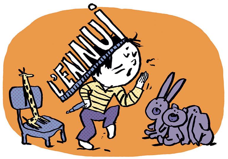 """""""Une rentrée pas tout à fait comme les autres…"""", supplément pour les parents du magazine Pomme d'Api n°655, septembre 2020. Illustration de Pascal Lemaître."""