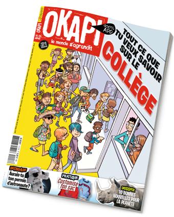 Couverture du magazine Okapi n°1117, 1er septembre 2020