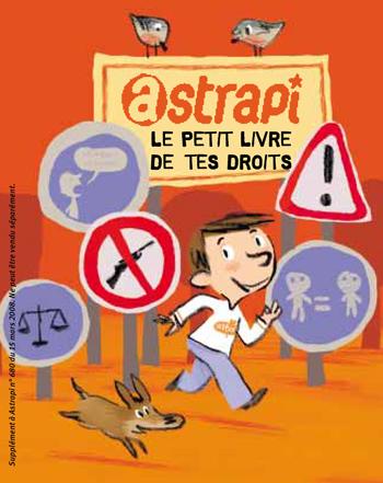 """Astrapi : """"Le petit livre de tes droits"""", publié en 2008"""