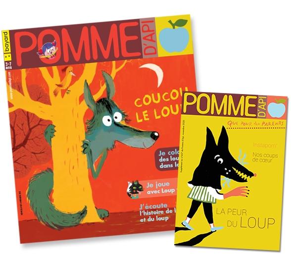 Couverture du magazine Pomme d'Api et son supplément pour les parents, n°657, novembre 2020