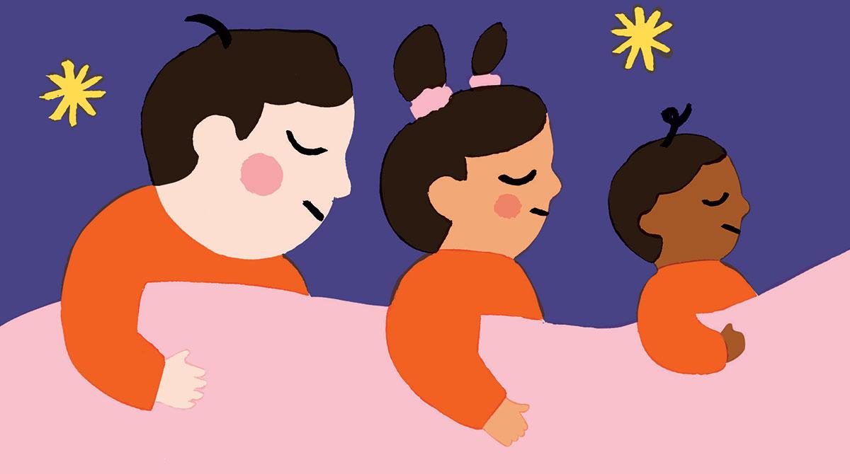 Illustration Dodo les petits, Julie Brouant. Popi n°411, novembre 2020