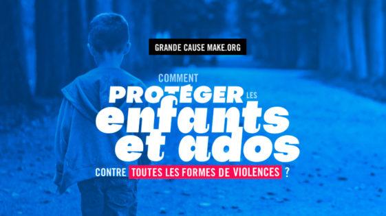 Bayard Jeunesse est partenaire de la Grande Cause Make.org pour la Protection de l'enfance