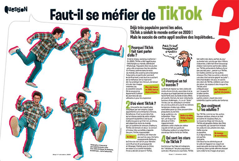 Okapi, 1er décembre 2020. Texte: Luc Ihaddadene. Illustrations: Manu Boisteau.