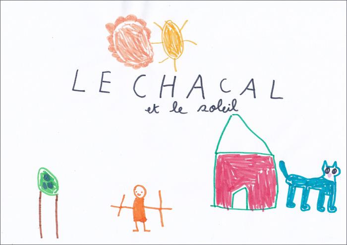 Augustin, 4 ans : Le chacal et le soleil