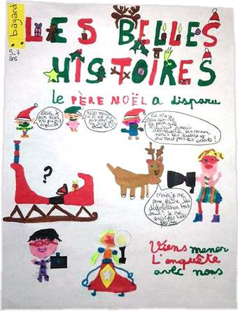 Clara, 7 ans : Les Belles Histoires : Le père Noël a disparu