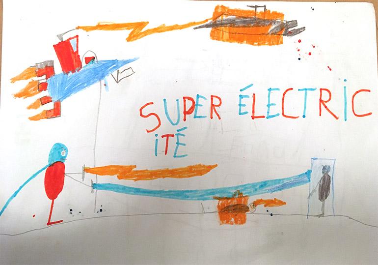 Thomas, 6 ans, Super Électricité
