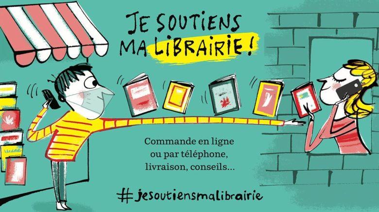 Je soutiens ma librairie!