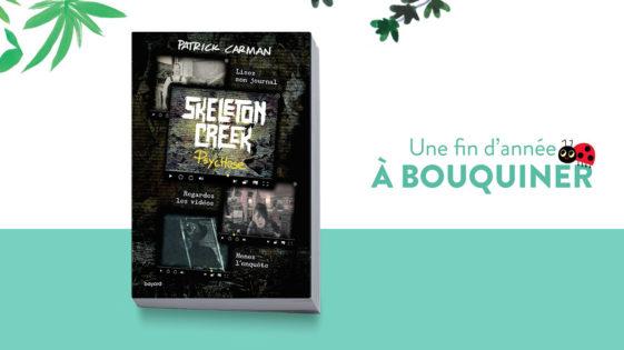"""Un livre pour Noël: """"Skeleton Creek"""" –dès 14ans"""""""