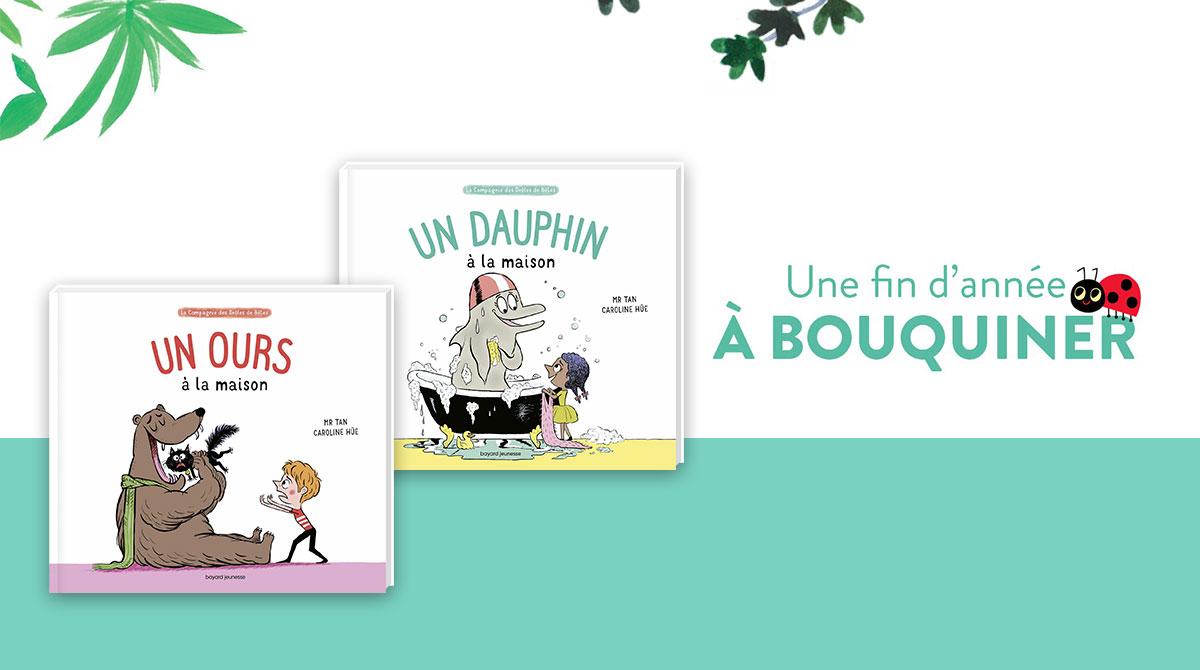 """Collection """"La Compagnie des drôles de bêtes"""" de Mr Tan et Caroline Hüe."""