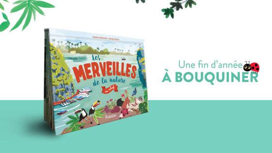 """Un livre pour Noël: """"Les merveilles de la nature en relief"""" –dès 5ans"""