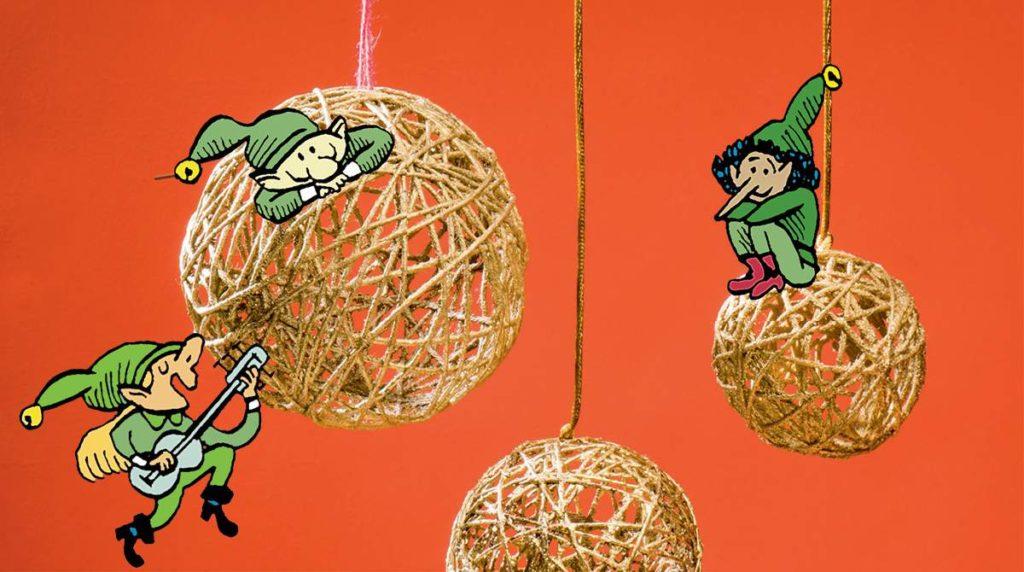 24 idées pour préparer le réveillon de Noël. Illustrations : Anne Simon. Création et stylisme : Virginie Rousset. Photo : Benoît Teillet.