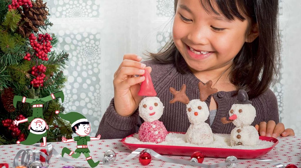 Recette de Noël:les coco-neiges