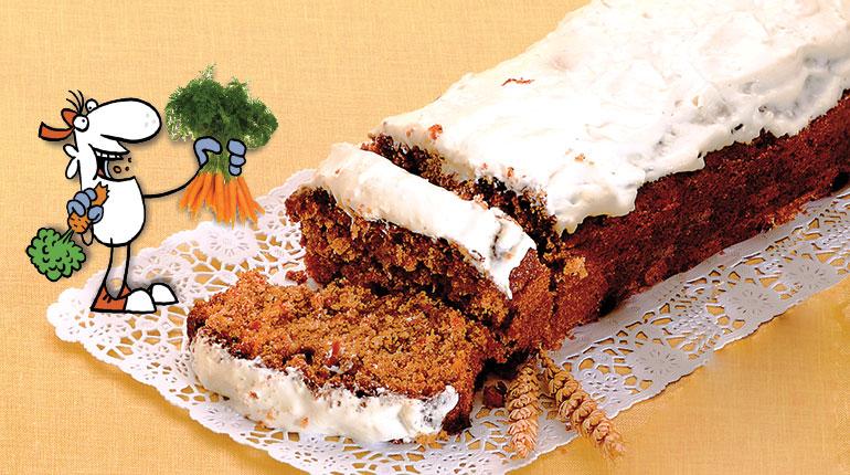 Recette facile en anglais : le carrot cake
