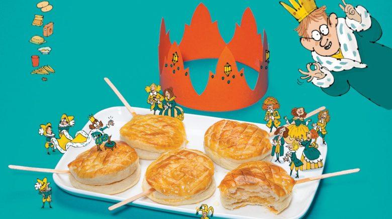 Recettes de galettes des Rois et couronnes à faire en famille