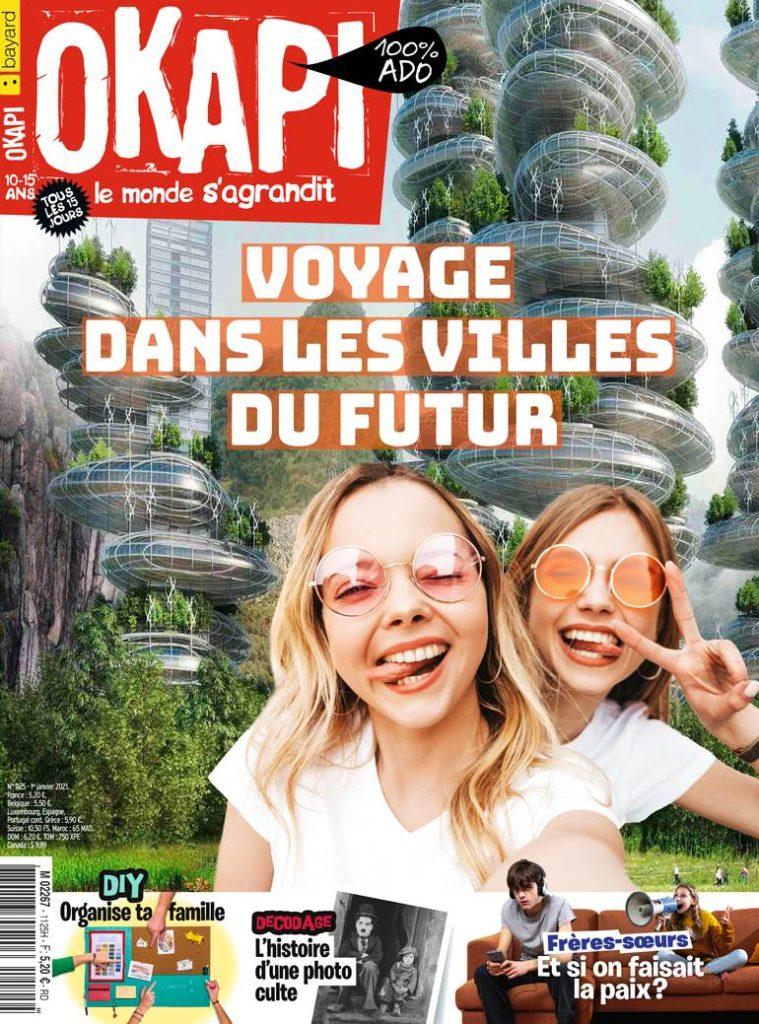 Couverture du magazine Okapi n°1125, 1er janvier 2021