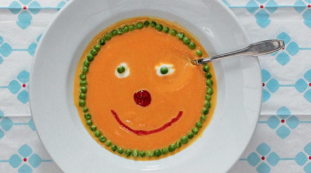 """""""Soupe de Popiron"""", supplément pour les parents du magazine Popi n°315, novembre 2012. Conception : Anne Chiumino. Photo : Émile Chiumino."""