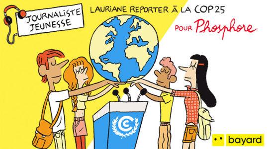 Podcast Okapi - Journaliste Jeunesse - Lauriane, reporter auprès des ados à la COP25