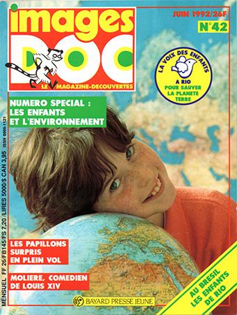 Images Doc n°42. Les enfants et l'environnement. Juin 1992.