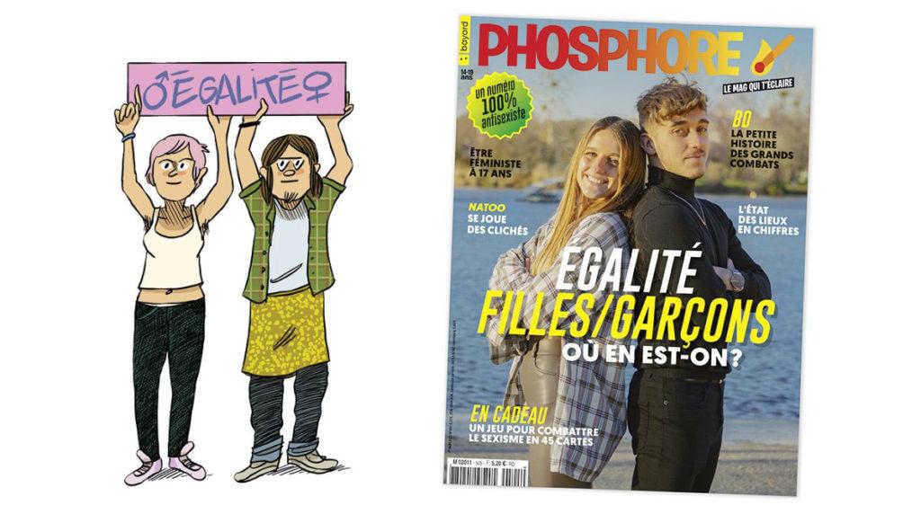 Égalité filles-garçons, où en est-on ? Phosphore n°505 du 1er mars 2021