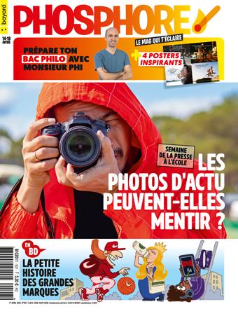 Couverture du magazine Phosphore n°507, 1er avril 2021