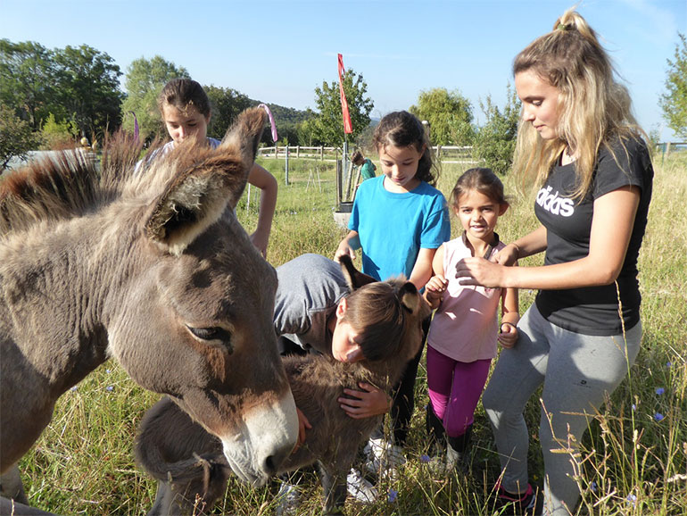 Vacances en famille à la ferme dans le Verdon