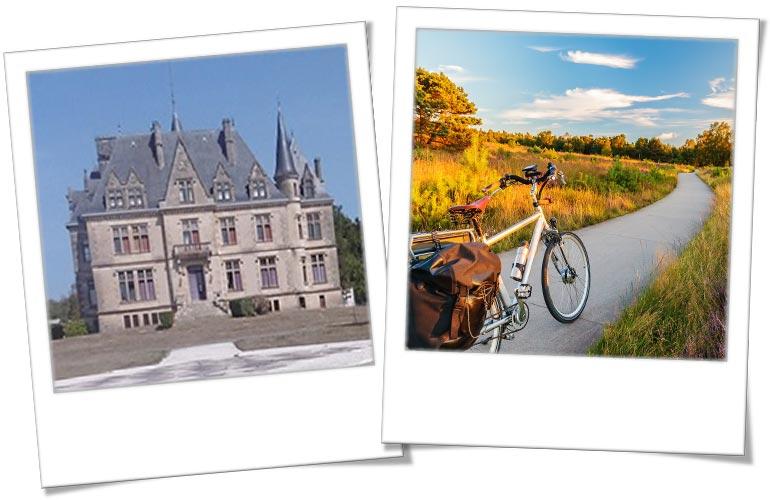© UCPA. Centre de vacances Aquitaine - ©AdobeStock. Balade à vélo