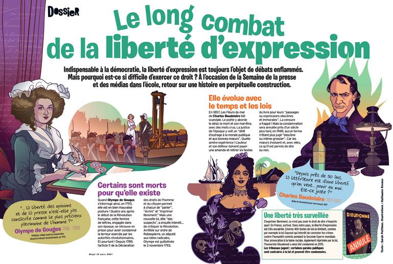 """""""Le long combat de la liberté d'expression"""" - Okapi n° 1130, 15 mars 2021"""