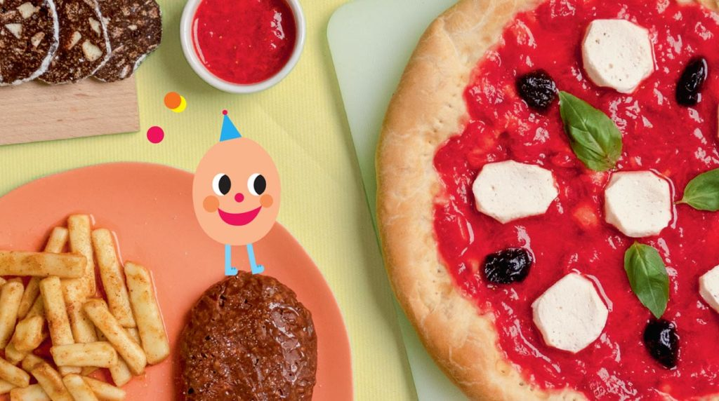 """""""Incroyable menu"""", Pomme d'Api n°641, juillet 2019. Conception : Pomme d'Api. Recettes, réalisation et photos : Hélo-Ita. Illustrations : Pepillo."""