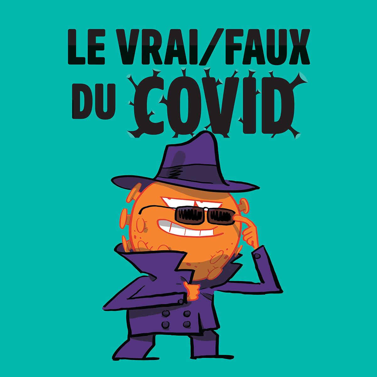 Le vrai/faux duCovid