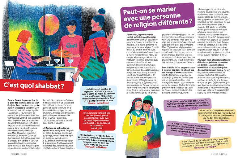 © Matthieu Méron. C'est quoi shabbat ? Peut-on se marier avec une personne de religion différente ?